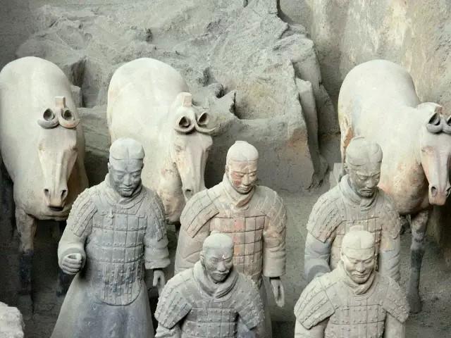 △秦始皇兵马俑/资料图