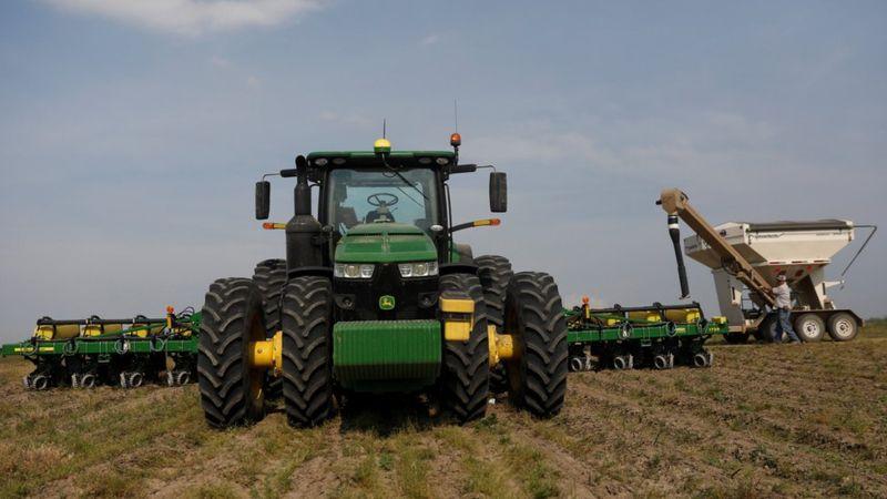 美国政府早前宣布将向当地大豆农民提供补贴,减低贸易战对他们的影响。