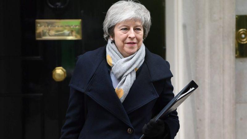 特蕾莎·梅首相