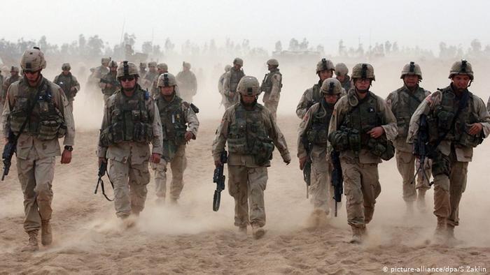 US Soldaten im Irak (picture-alliance/dpa/S.Zaklin)
