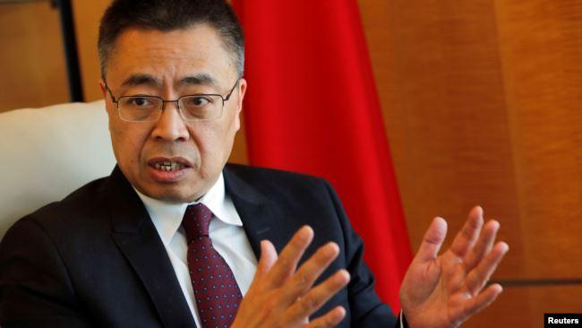 中国驻世界贸易组织代表张向晨 (资料照片)