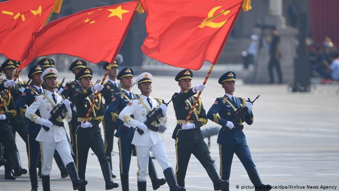 Parade 70 Jahre Volksrepublik China (picture-alliance/dpa/Xinhua News Agency)