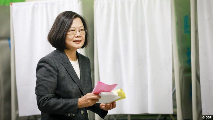 Taiwan Präsidentschaftswahl | Tsai Ing-Wen (DDP)