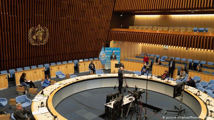 Schweiz Genf WHO Treffen (picture-alliance/Photoshot/WHO)