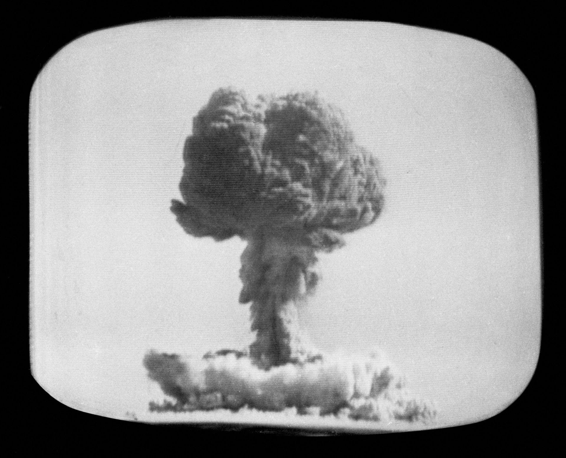 1964年10月16日,中国第一颗原子弹爆炸成功。(Getty)