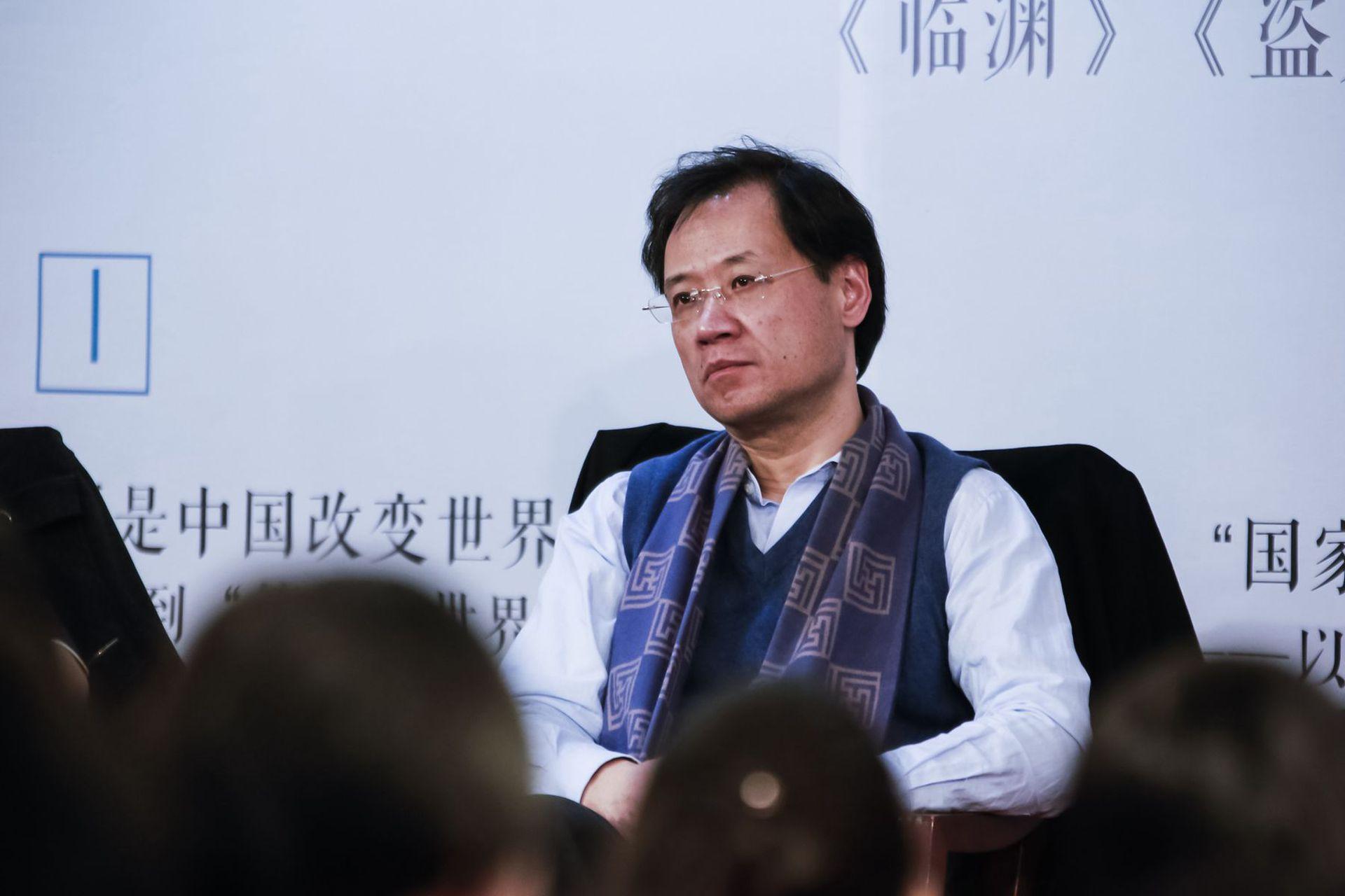 许章润此前因争议言论被北京清华大学撤销所有职务,引发极大争议。(视觉中国)
