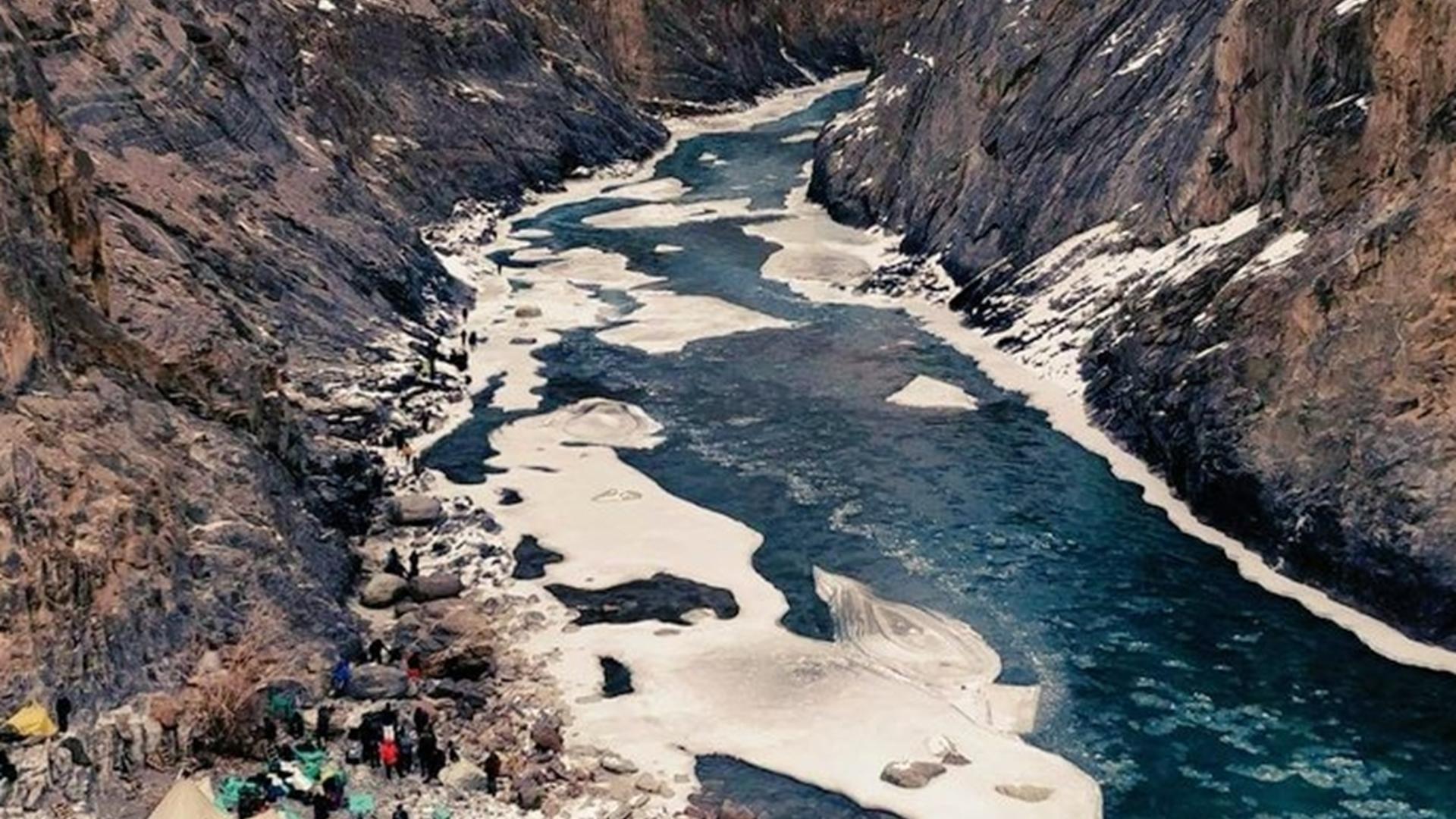 2020年6月15日,中印在加勒万河谷爆发激烈冲突。(微博@南海的浪涛)