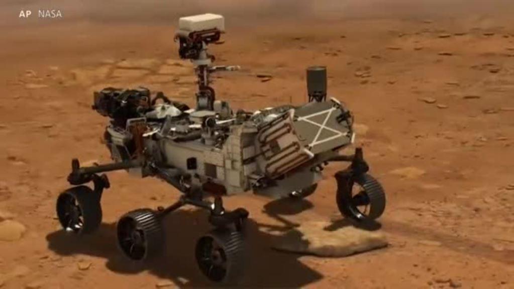 美国将发射火星è½|探ç′¢生命è¿1象