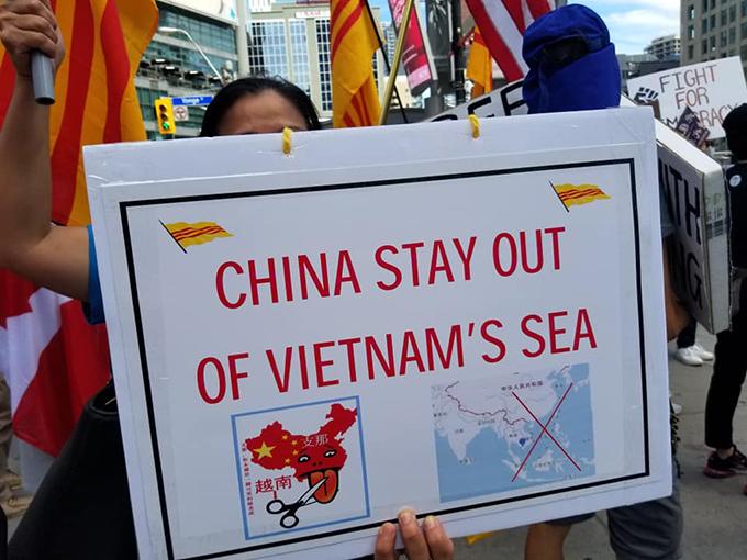 大勢所趨?加拿大各族裔聯合抗議中國