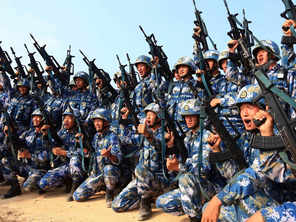 美媒中国海军陆战队规模扩大与美比仍微不足道|多维新闻网|中国