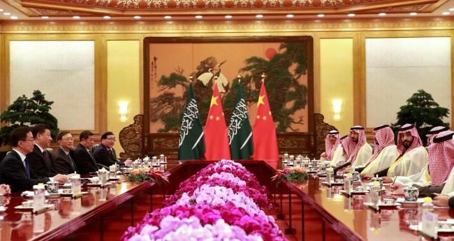 习近平2019年2月在北京与沙特王储萨勒曼会谈-2.jpg