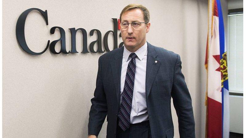加拿大保守党领袖改选,候选人彼得.麦凯(Peter MacKay)声势领先。(AP photo/Andrew Vaughan)