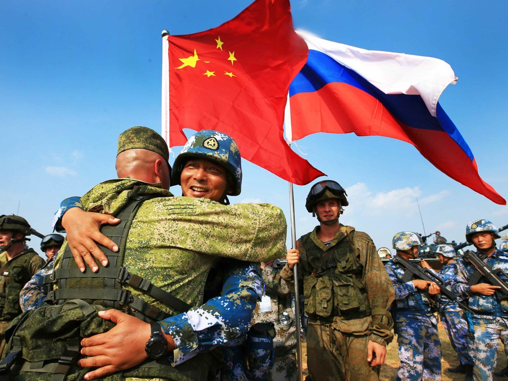 德媒评东方战略演习美压力促使中俄更加靠近|多维新闻网|中国