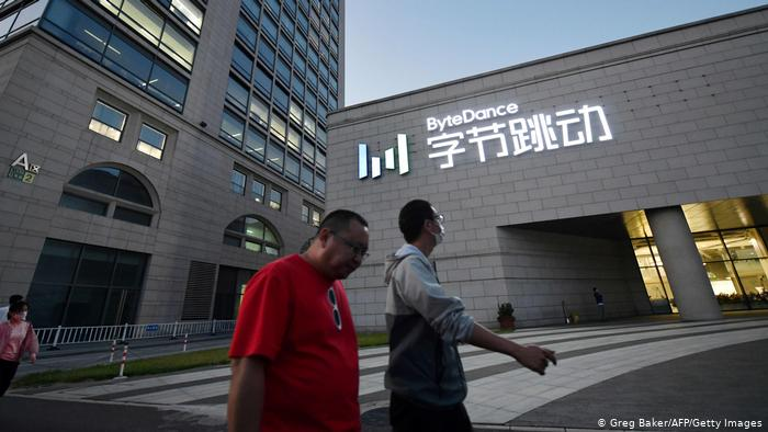 Peking Hauptquartier ByteDance   Muttergesellschaft der Video-Sharing-App TikTok (Greg Baker/AFP/Getty Images)