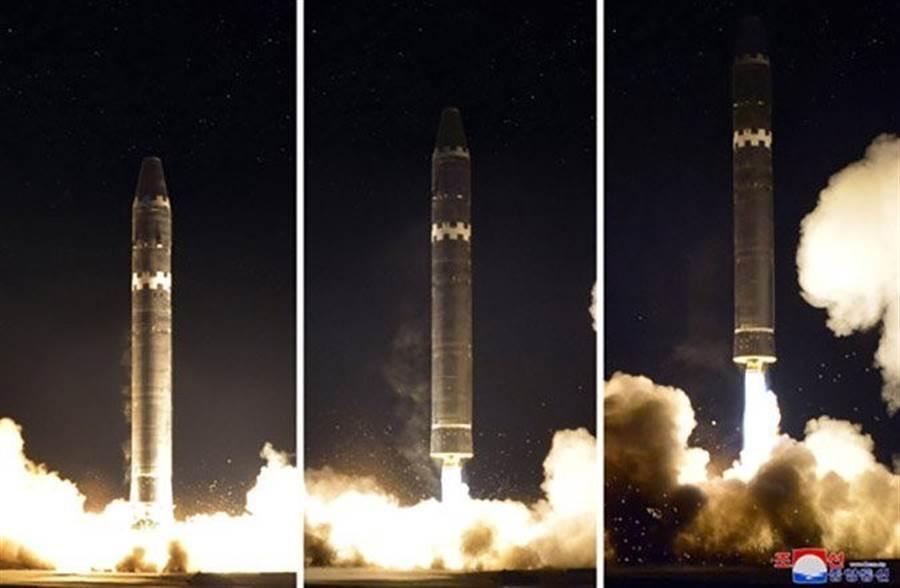 2017年,北韩试射火星15型。(图/missilethreat)