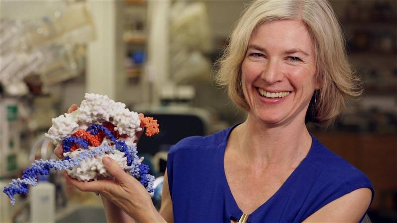 今年诺贝尔化学奖得主之一道纳(Jennifer A. Doudna)(路透)