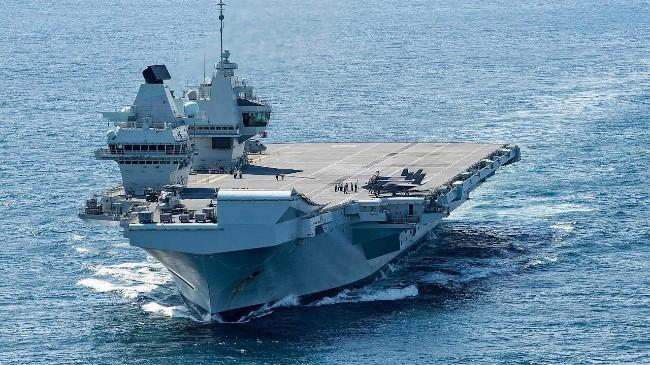 """英国新航母""""伊丽莎白女王号""""或将不属到印太地区.jpg"""