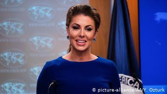 Morgan Ortagus Sprecherin US-Außenministerium (picture-alliance/AA/Y. Ozturk)