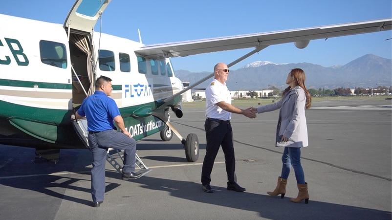 谢博元的航空梦,是要洛杉矶上班族不再受塞车之苦,搭飞机上班。