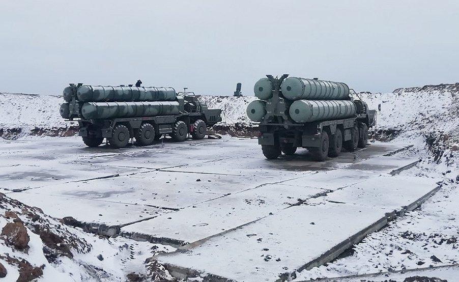印度向俄羅斯採購的S-400防空飛彈系統。圖:翻攝Russia's MFA in Crimea推特