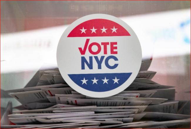 剃光头认不出?纽约12人重复投票被抓包