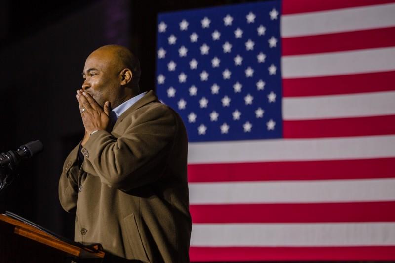 民主黨南卡羅來納州聯邦參議員候選人哈里森(Jaime Harrison),挑戰共和黨現任議員葛蘭姆失敗。(彭博)