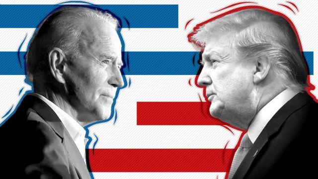 美国大选2020:BBC分析民调特朗普或拜登谁领先? - BBC News 中文