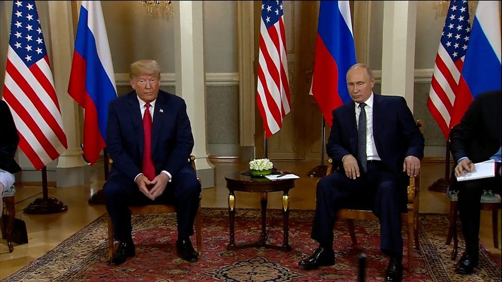 """普特会""""引发争议将如何影响中美俄关系- BBC News 中文"""