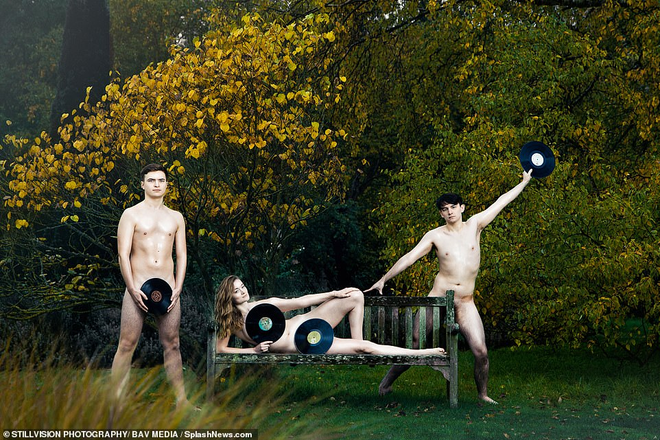 Social distancing was a key consideration while the photoshoots were being carried out