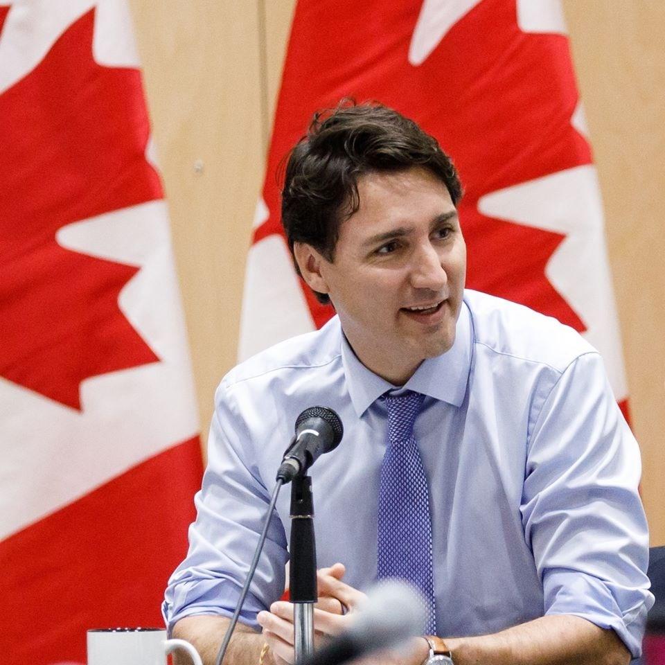 加拿大總理杜魯道對是否禁用華為遲未表態。圖:擷自Justin Trudeau臉書
