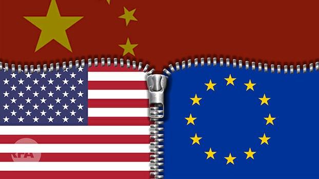 中国窃取西方科技:三种方式  三个反制(自由亚洲电台制图)