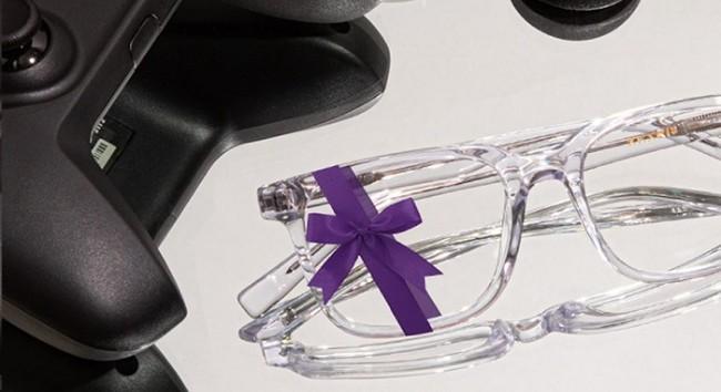 超轻舒适的方形眼镜