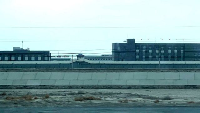New prison camp complex outside Korla, Xinjiang