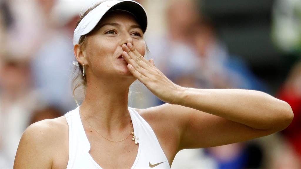 莎拉波娃(Maria Sharapova)近日在IG上宣布訂婚羨煞旁人。(圖/達志影像)
