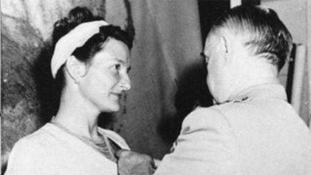 维吉尼亚‧霍尔二战时曾为英国情报局特工,后为美国中情局工作。