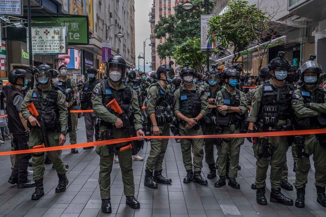 欧洲领导人批评中国在香港压制异见的做法。