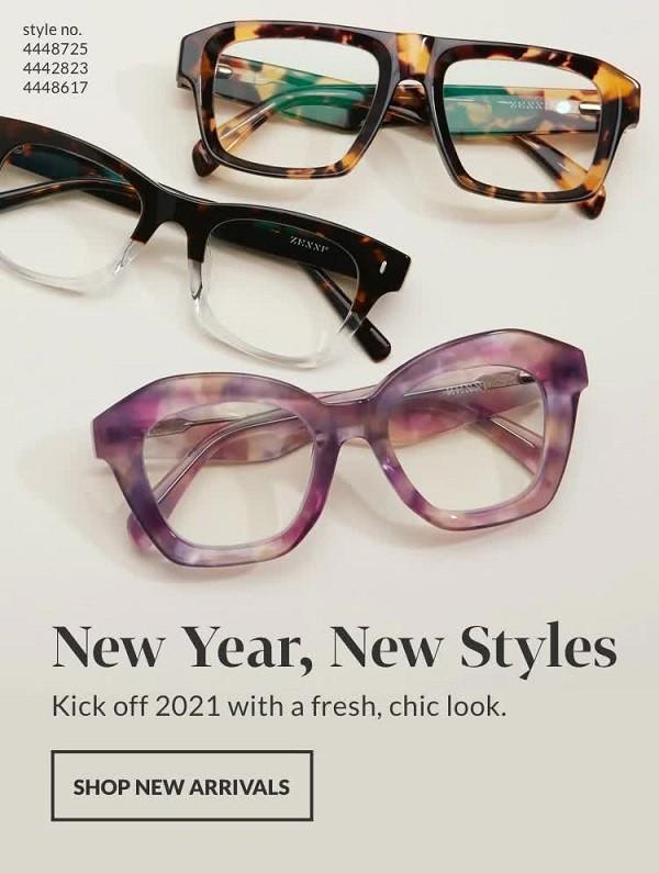 造型款粗框眼镜
