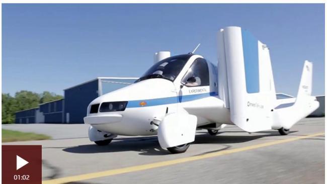 飞行汽车横空出世,世界将为之而改变