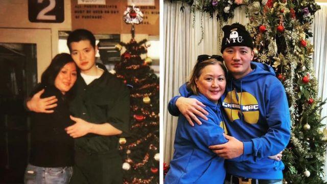 China Mac and mum
