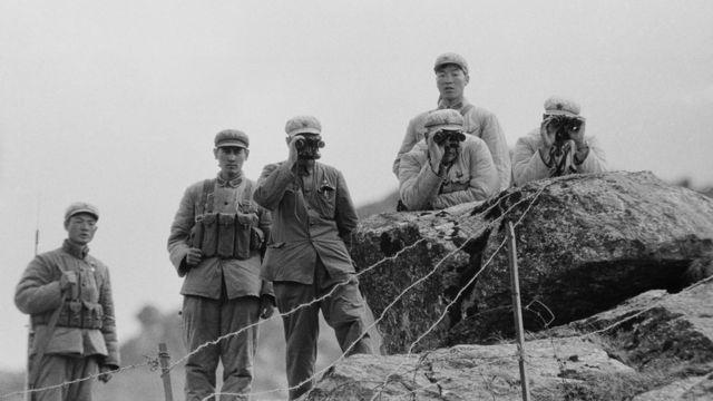 1962年中印边境冲突中的中国解放军军人