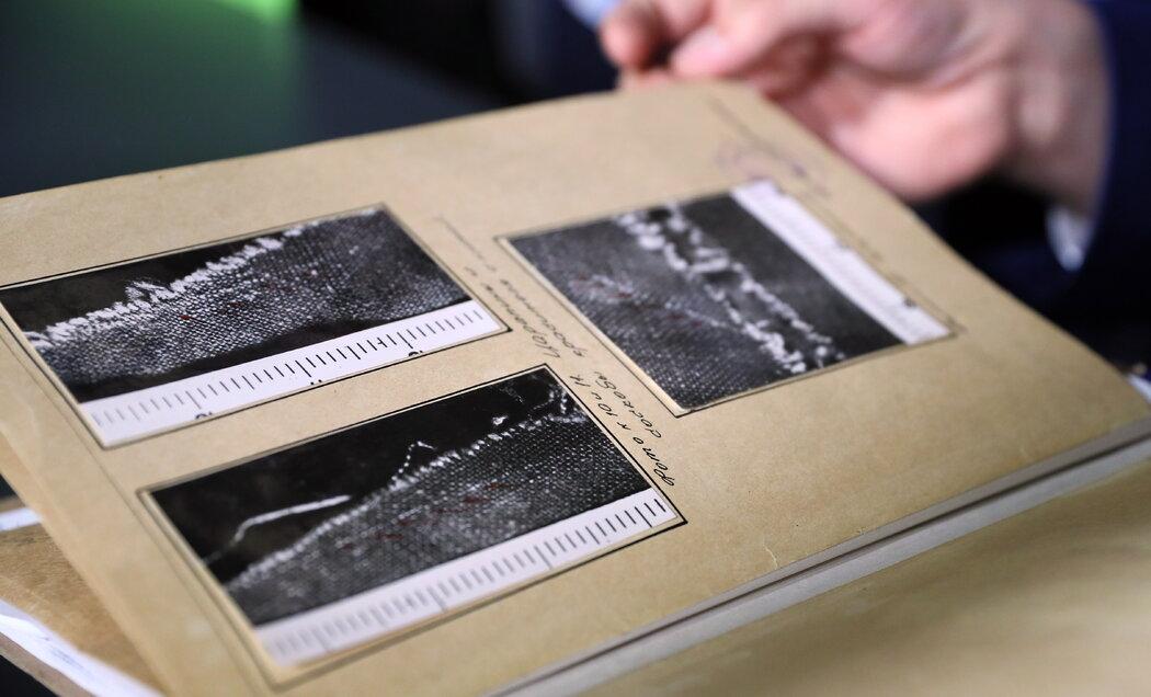 1959年的最初调查中的文件。