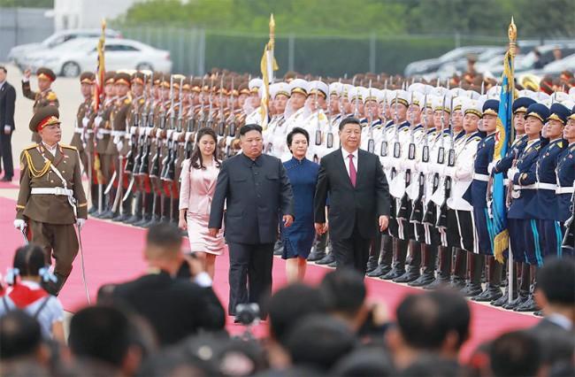 2019年6月习近平访问北韩.jpg