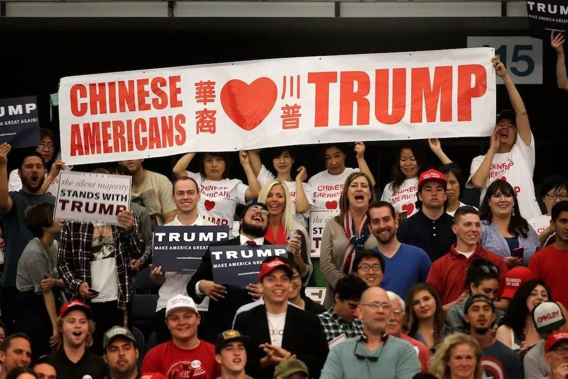 为何川普在一代华裔移民中如此招人爱?听听美籍华人们怎么说