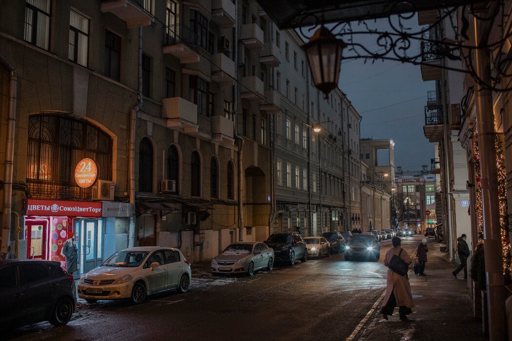 沙舍娃的父亲被送往古拉格之前,就住在莫斯科的这条街上。