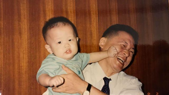 李戡与父亲李敖