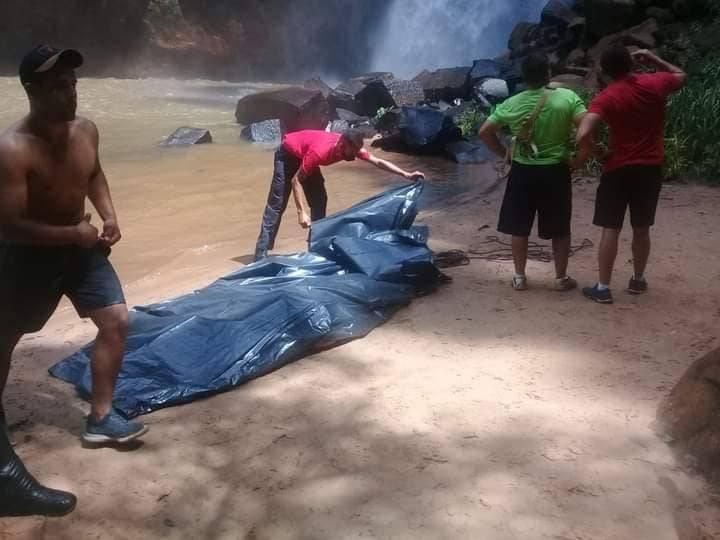 救援隊到場時,兩人都已不幸身亡,(圖翻攝自Allan Silva個人Facebook)