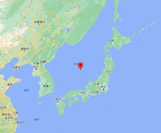 ▲▼日本海,東海,日本。(圖/翻攝自Google Maps)