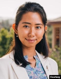 美国斯坦福大学国际政策缅甸裔研究生Me Me Khant。(照片本人提供)