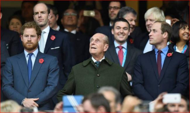英女王下令!隔开威廉、哈利