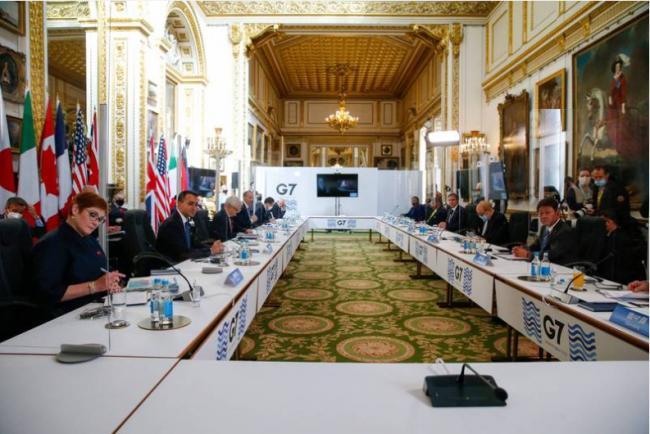 """G7外长发声明批评中俄 狠呛北京是""""霸凌者"""""""